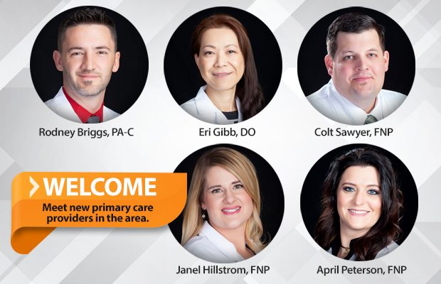 Meet new primary care providers in the area